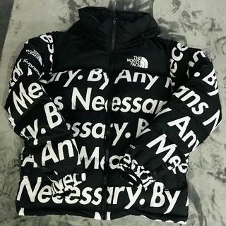シュプリーム(Supreme)の 美品supreme the north face nuptse jacket (ダウンジャケット)