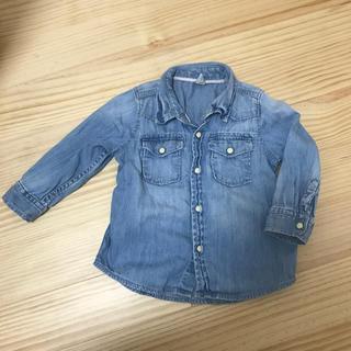 ベビーギャップ(babyGAP)のギャップ デニムシャツ 90(Tシャツ/カットソー)