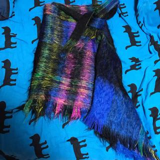 ヴィヴィアンウエストウッド(Vivienne Westwood)のVivienne Westwood メトロポリタンタータン 巻きスカート モヘア(ミニスカート)