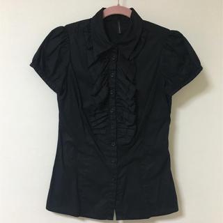 ザラ(ZARA)の NAF NAF パフスリーブシャツ(シャツ/ブラウス(半袖/袖なし))