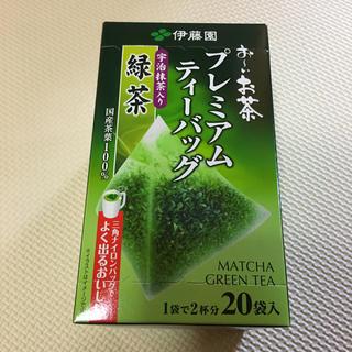 イトウエン(伊藤園)のおーいお茶 プレミアムティーバッグ(茶)