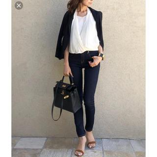 DOUBLE STANDARD CLOTHING - ダブルスタンダード タンクトップ ブラウス プリーツ コラボ
