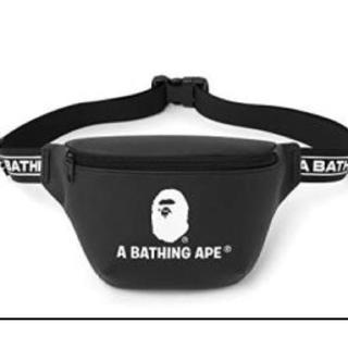 アベイシングエイプ(A BATHING APE)のA BATHING APE(アベイシングエイプ)ロゴテープ ウエストバッグ(ウエストポーチ)