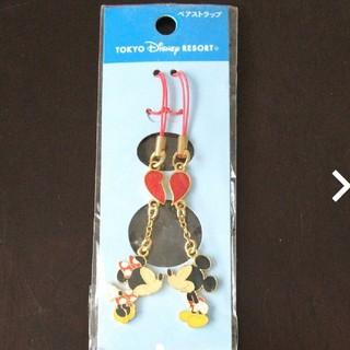 Disney - ディズニー ペアストラップ ミッキーミニー