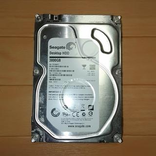 HDD 3TB Seagate 書庫使用品 2