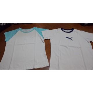 ナイキ(NIKE)のNIKE&PUMA Tシャツ(Tシャツ(半袖/袖なし))