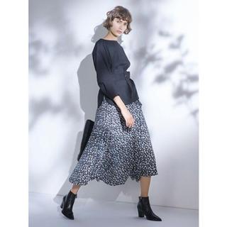 ミラオーウェン(Mila Owen)のラウンドヘム巻きスカート ミラオーウェン(ロングスカート)