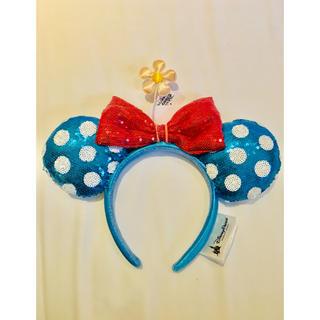ディズニー(Disney)の【Disney】上海ディズニー 限定 カチューシャ ミニー 水玉 日本未発売(カチューシャ)