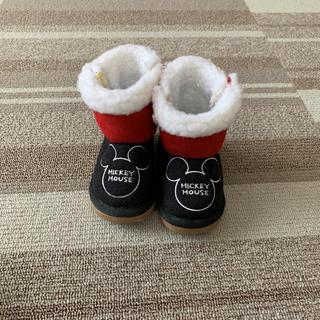 ディズニー(Disney)のミッキーのムートンブーツ(ブーツ)