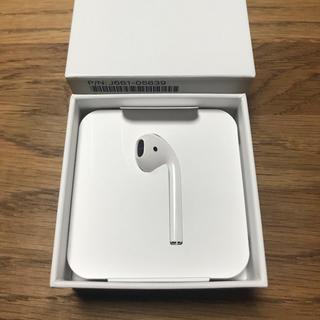 アップル(Apple)のAirPods (L) 左(ヘッドフォン/イヤフォン)