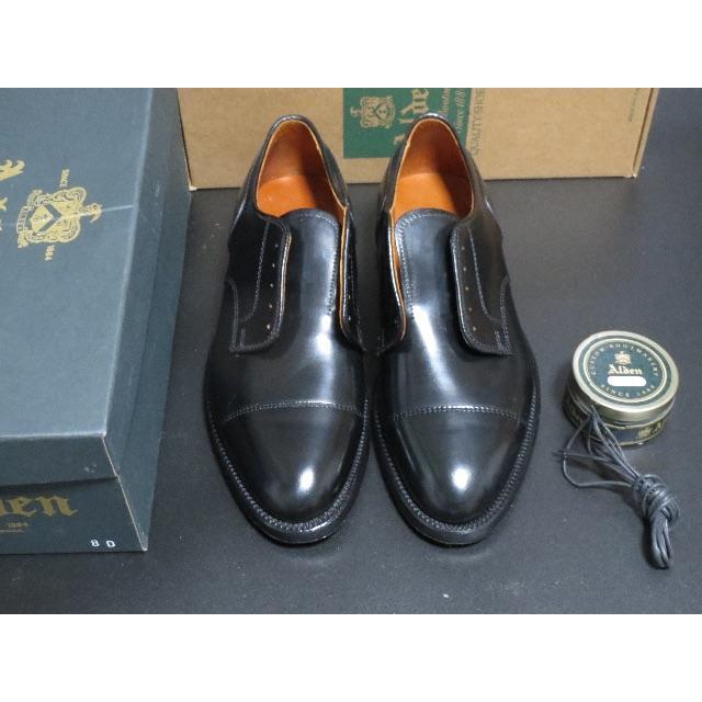 Alden(オールデン)の【新品/大安売り】ALDEN 2161 BLACK CORDOVAN オールデン メンズの靴/シューズ(ドレス/ビジネス)の商品写真