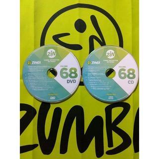 Zumba - ZUMBA ズンバ ZIN68 CD&DVD インストラクター専用