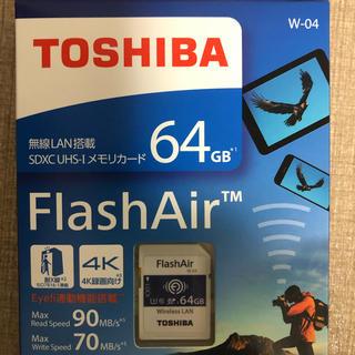 新品 Flash Air 64GB  SDカード(PC周辺機器)