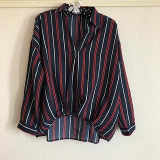シマムラ(しまむら)の未使用☆シャツ  Lサイズ(シャツ/ブラウス(長袖/七分))