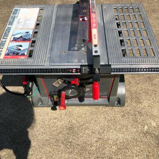 木工用テーブルソー255mm(工具/メンテナンス)