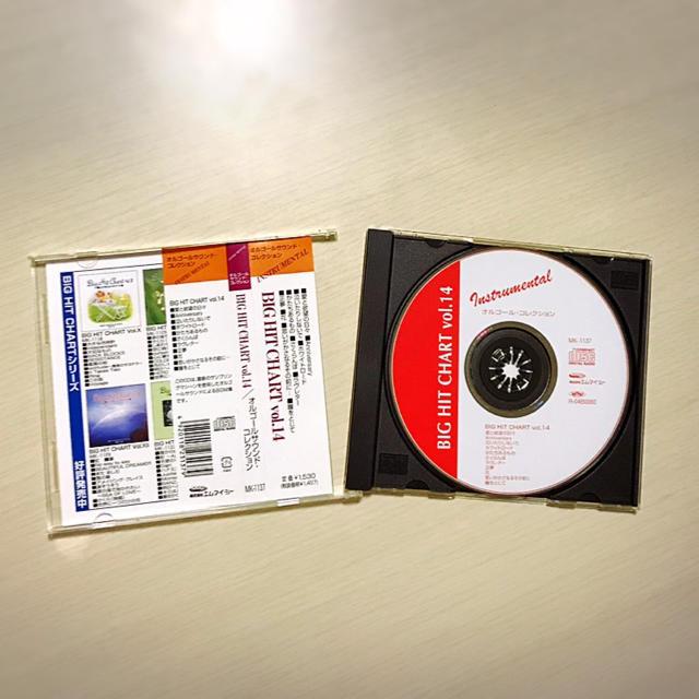 ビックヒットチャート vol.14 α波オルゴール エンタメ/ホビーのCD(ヒーリング/ニューエイジ)の商品写真