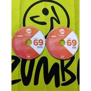 ズンバ(Zumba)のZUMBA ズンバ ZIN69 CD&DVD インストラクター専用(スポーツ/フィットネス)