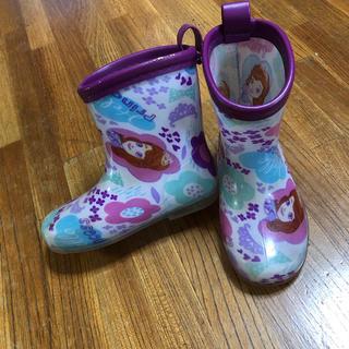 ディズニー(Disney)のディズニー プリンセス ソフィア 長靴 レインブーツ 15(長靴/レインシューズ)