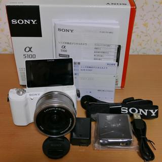 ソニー(SONY)の◼️ SONY α5100 ホワイト(ミラーレス一眼)