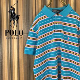 ded4d09106051 ポロラルフローレン(POLO RALPH LAUREN)のポロ ラルフローレン ポロシャツ ワンポイント ボーダー