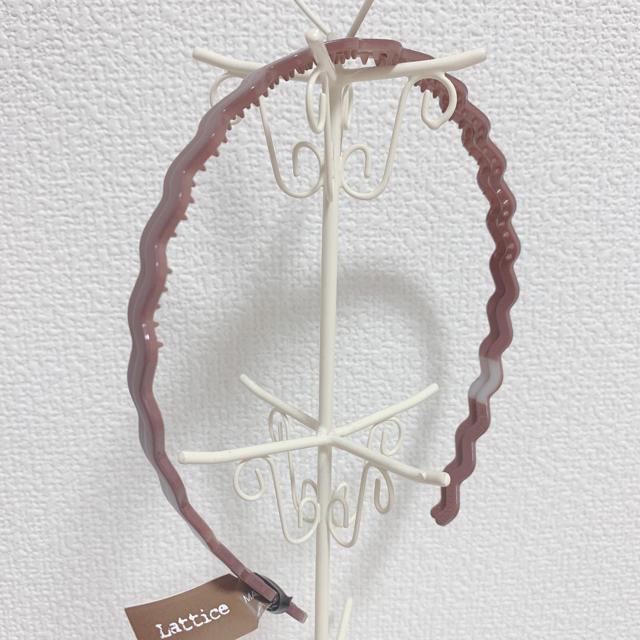 Kastane(カスタネ)のlattice * うねうねカチューシャ レディースのヘアアクセサリー(カチューシャ)の商品写真