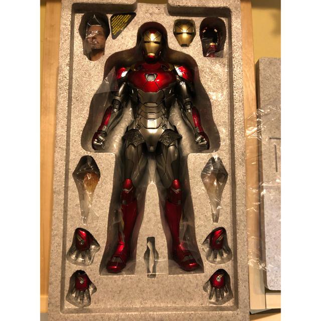超美品 ホットトイズ ムービーマスターピース 1/6 アイアンマン マーク47 エンタメ/ホビーのフィギュア(アメコミ)の商品写真