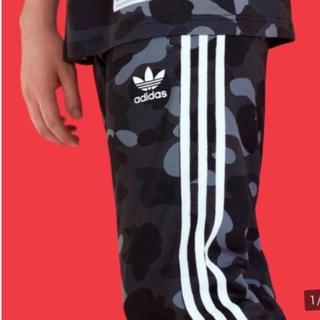 アディダス(adidas)のコラボ adidas BAPE TRACK PANT  Lサイズ(その他)
