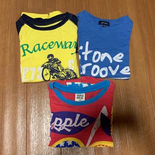 Tシャツ 120cm 3枚セット(Tシャツ/カットソー)