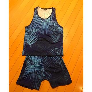 ザラ(ZARA)の【美品】ZARA MAN タンクトップ&パンツ(Tシャツ/カットソー(半袖/袖なし))