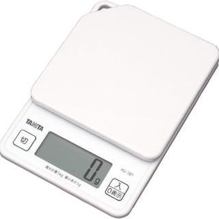 《タニタ》はかり スケール 料理 1kg デジタル ホワイト (調理道具/製菓道具)