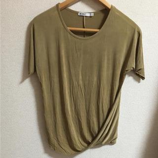 ザラ(ZARA)のザラ zara カーキ Tシャツ(Tシャツ(半袖/袖なし))