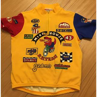 ミキハウス(mikihouse)のミキハウス  キッズ 男の子 半袖 ジップアップ  Tシャツ 110  (Tシャツ/カットソー)
