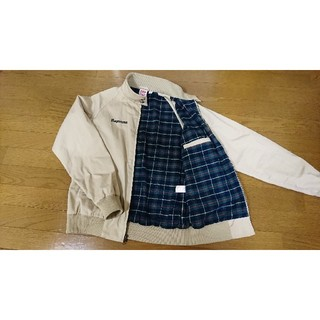 シュプリーム(Supreme)の【USED】Supreme Lacoste Harrington Jacket(ブルゾン)