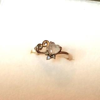 サマンサティアラ(Samantha Tiara)の美品サマンサティアラ ピンキーリング(リング(指輪))