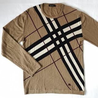 バーバリー(BURBERRY)のBURBERRY ノヴァチェック 薄手 セーター ノバチェック 正規品(ニット/セーター)