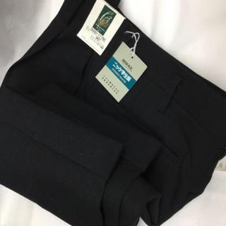 【新品】男子 学生服ズボン 黒色 制服 ズボン 高校 中学 衣替え 入学準備(スラックス)