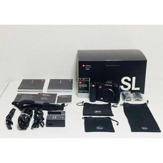 ライカ(LEICA)の【美品】 Leica ライカ SL Typ 601 フルサイズ 2400万画素 (ミラーレス一眼)