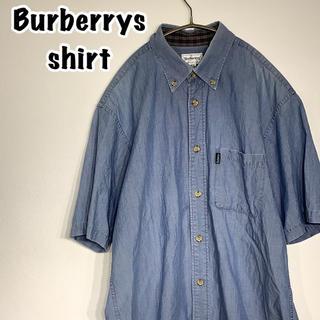 バーバリー(BURBERRY)のBurberry バーバリー ワンポイント 半袖シャツ(シャツ)