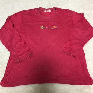 ミキハウス(mikihouse)のミキハウス 長袖 ロンT 110 ピンク(Tシャツ/カットソー)