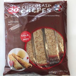 コストコ(コストコ)のチョコクレープ チョコレートクレープ チョコレート コストコ お菓子 クレープ(菓子/デザート)