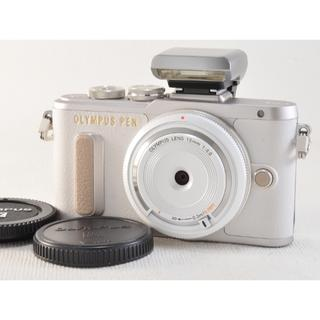 オリンパス(OLYMPUS)の美品❗️オリンパス PEN PL8 レンズセット SDカード付き✨(ミラーレス一眼)