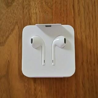 アイフォーン(iPhone)の【新品未使用】iPhone 正規品 イヤホン(ヘッドフォン/イヤフォン)