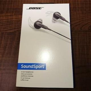 ボーズ(BOSE)の SoundSport in-ear headphones  イヤホン(ヘッドフォン/イヤフォン)