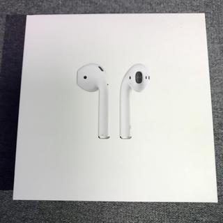 アップル(Apple)のAirPods 第一世代 MMEF2J/A 中古 正規品 Apple(ヘッドフォン/イヤフォン)