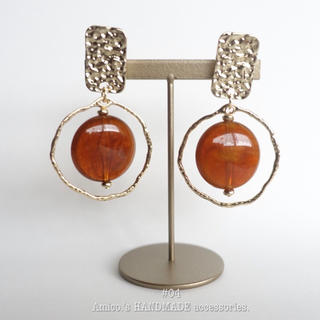 #04 ~ HANDMADE earring(pierce)~(イヤリング)