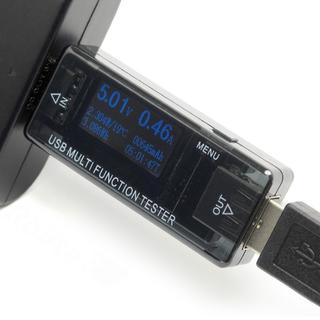 【目玉,交渉ok】QC3.0対応 USB多機能チェッカー(その他)