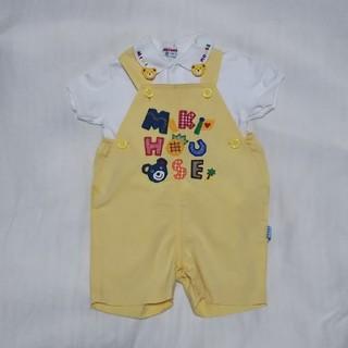 ミキハウス(mikihouse)のミキハウス ロンパース ポロシャツ セット サイズ90cm レトロ(その他)