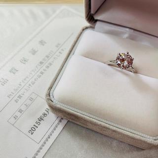 ダイヤモンドリング 1.5ct プラチナ(リング(指輪))
