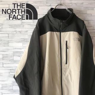 ザノースフェイス(THE NORTH FACE)のノースフェイス ソフトシェル ジャケット ジャー胸ポケット ワンポイント ロゴ(ブルゾン)