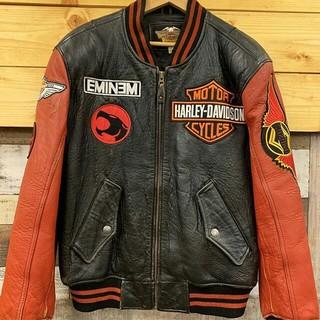 ハーレーダビッドソン(Harley Davidson)のハーレー羊革ジャケット(レザージャケット)